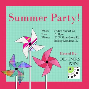Summer party 2014 Invite